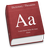 Mac OS X Dictionary icon