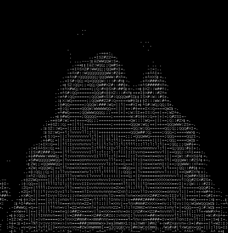 One Line Ascii Art Music : Fun on the terminal part view ascii art and ansi