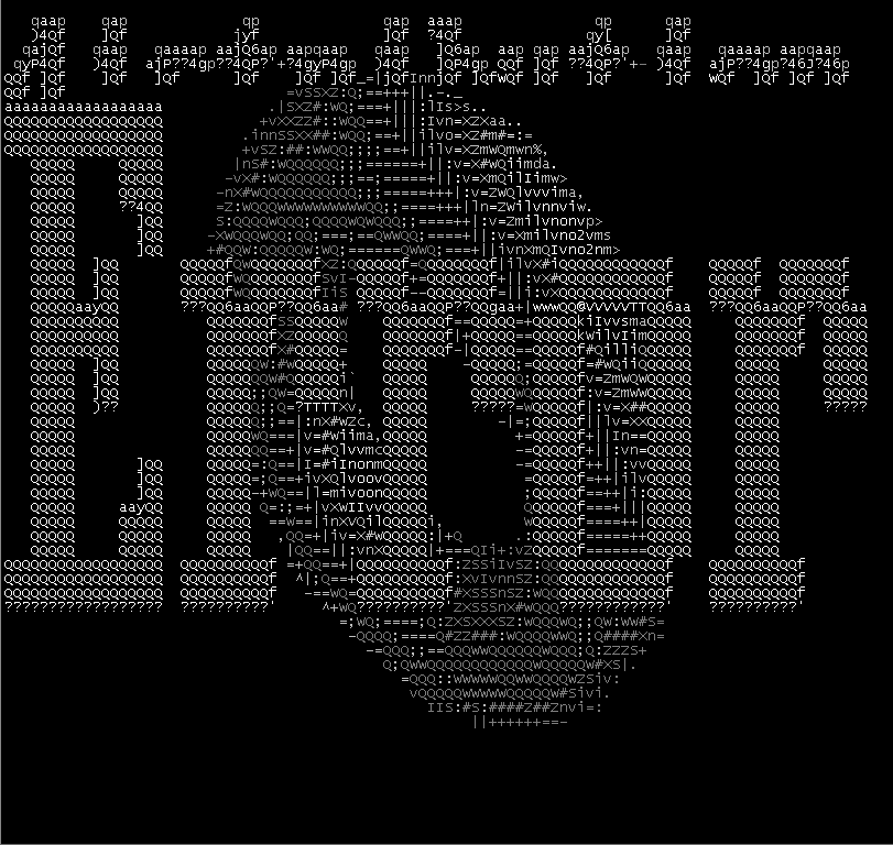 Fun On The Terminal Part 2 - View ASCII Art And ANSI Art On