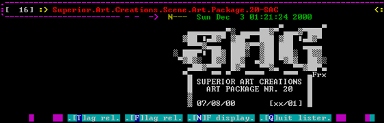 P.O.R. View ANSI art in SecureCRT